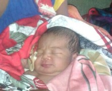 A new baby girl born in ambulance-25th October 2016
